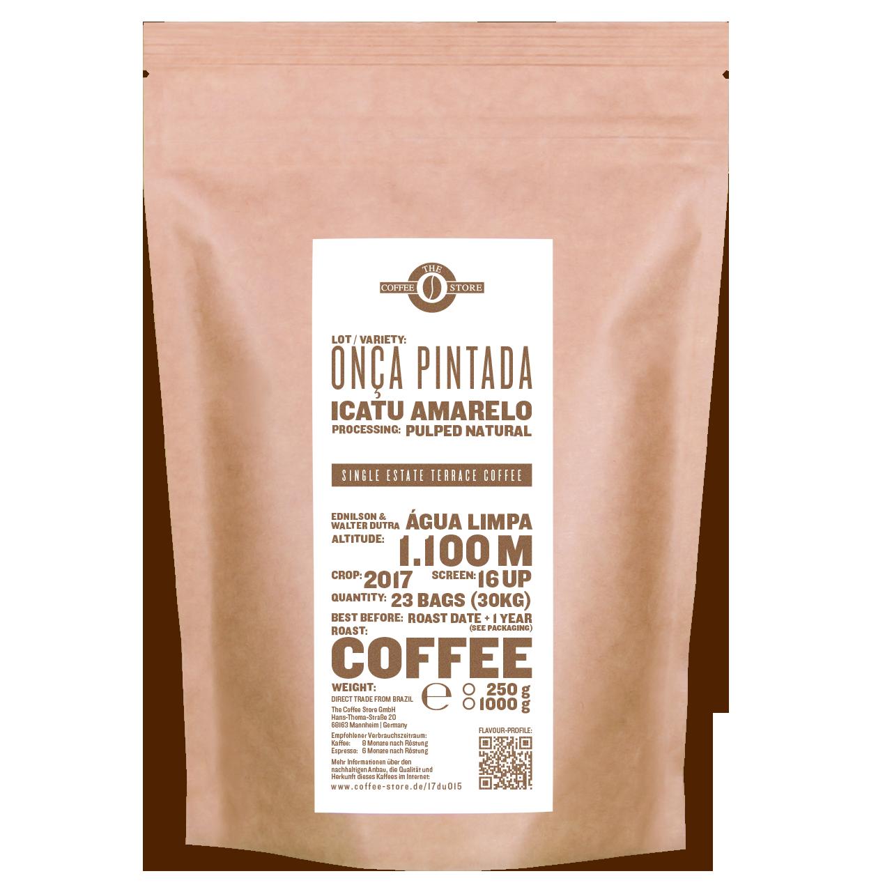 Onca Pintada, Icatu amarelo - Kaffeeröstung
