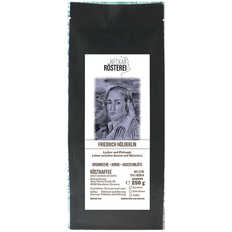 Friedrich Hölderlin - Kaffeeröstung