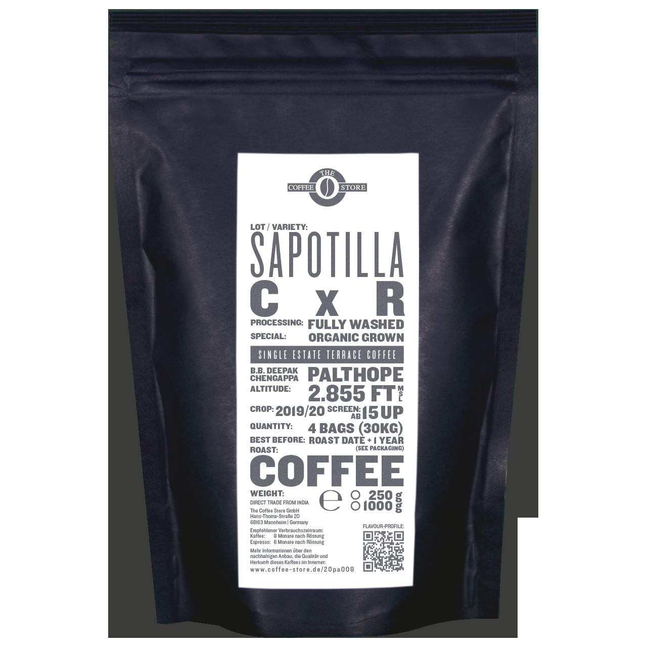 Sapotilla, CxR - Kaffeeröstung
