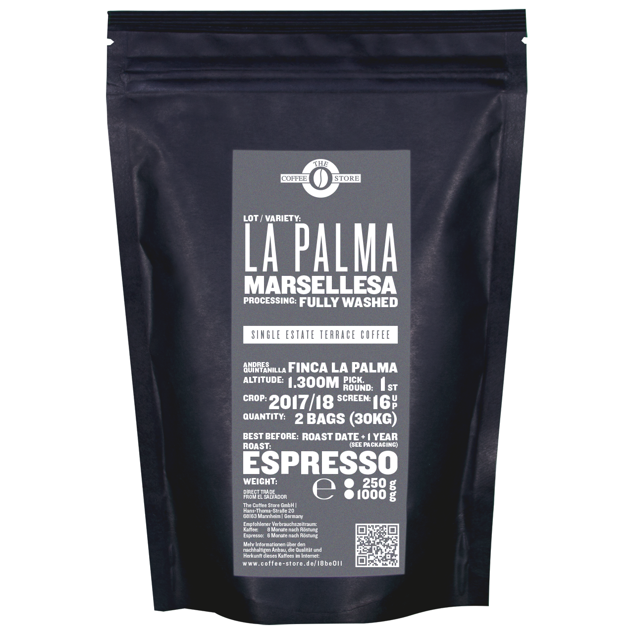 La Palma, Marsellesa - Espressoröstung