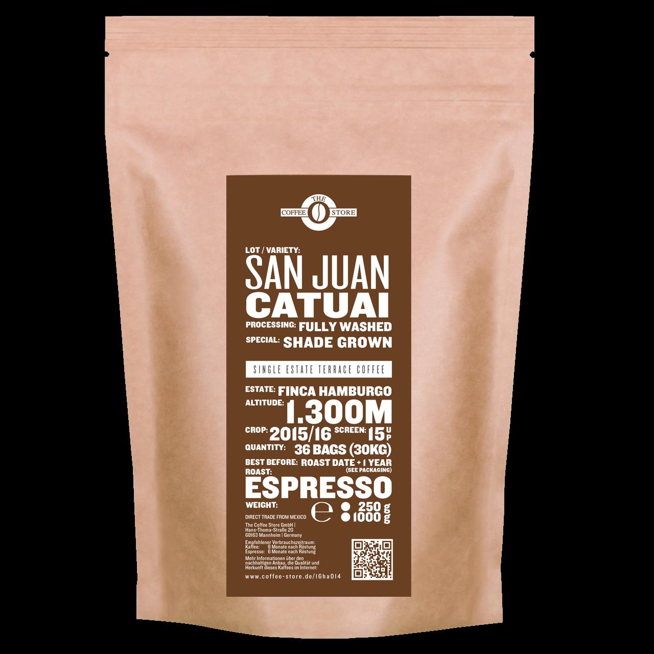 San Juan, Catuai - Espressoröstung