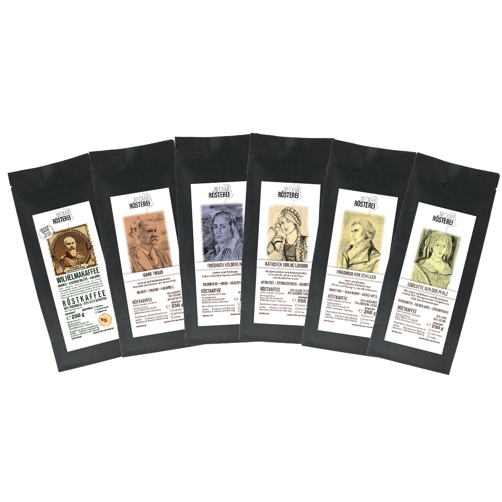 "6er-Probierpaket ""Fruchtig"" (Kaffee)"