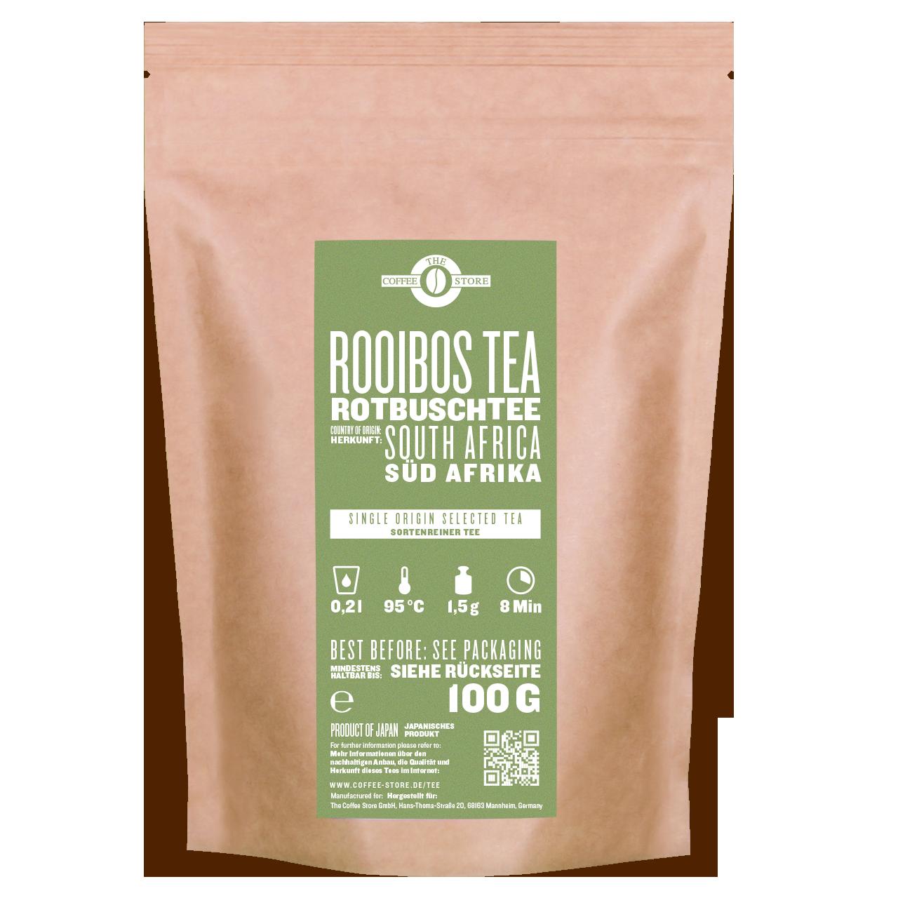 Rotbusch  - Tee pur