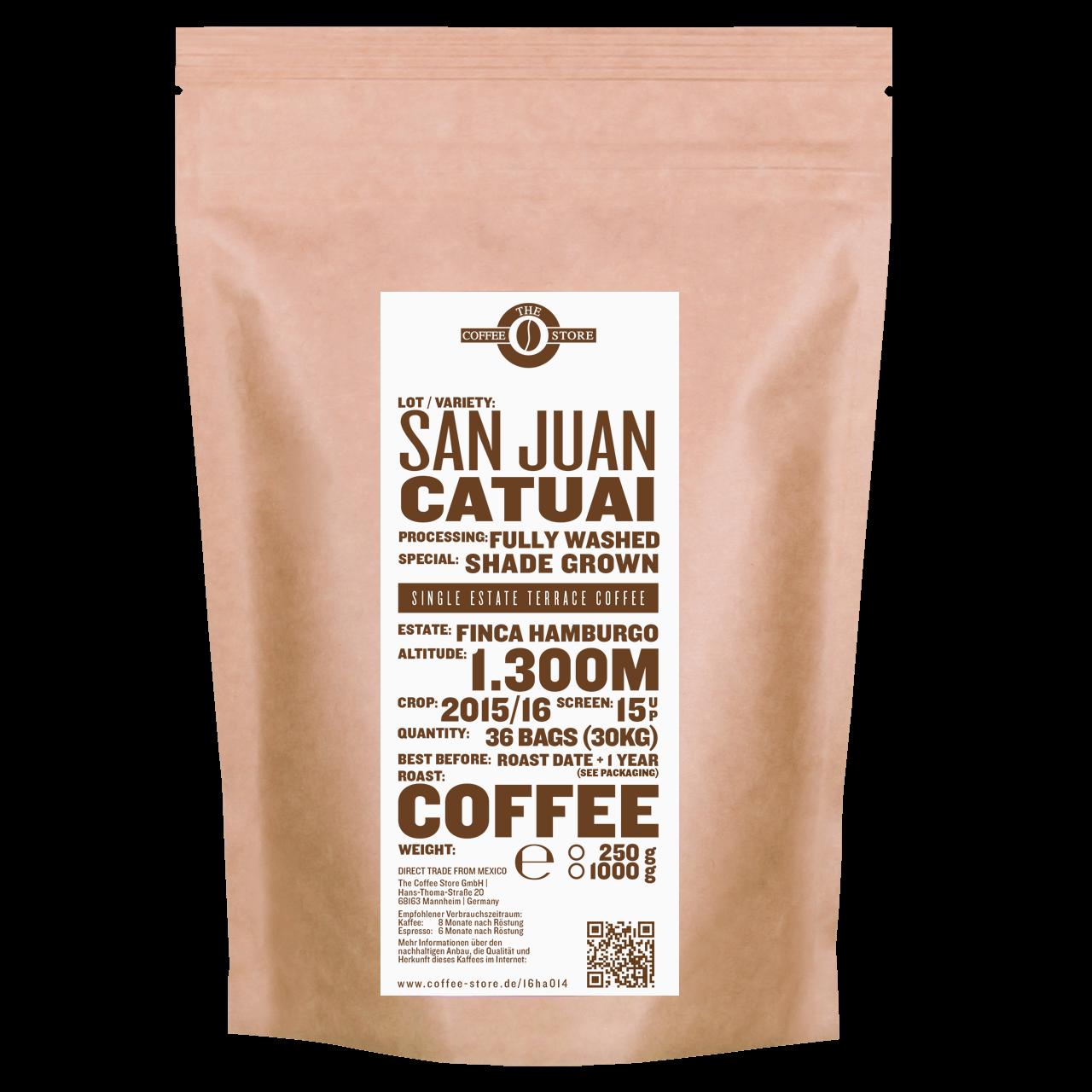 San Juan, Catuai - Kaffeeröstung