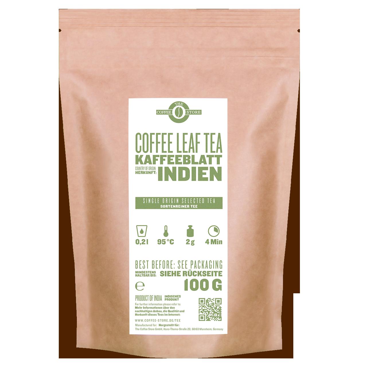 Kaffeeblatt-Tee