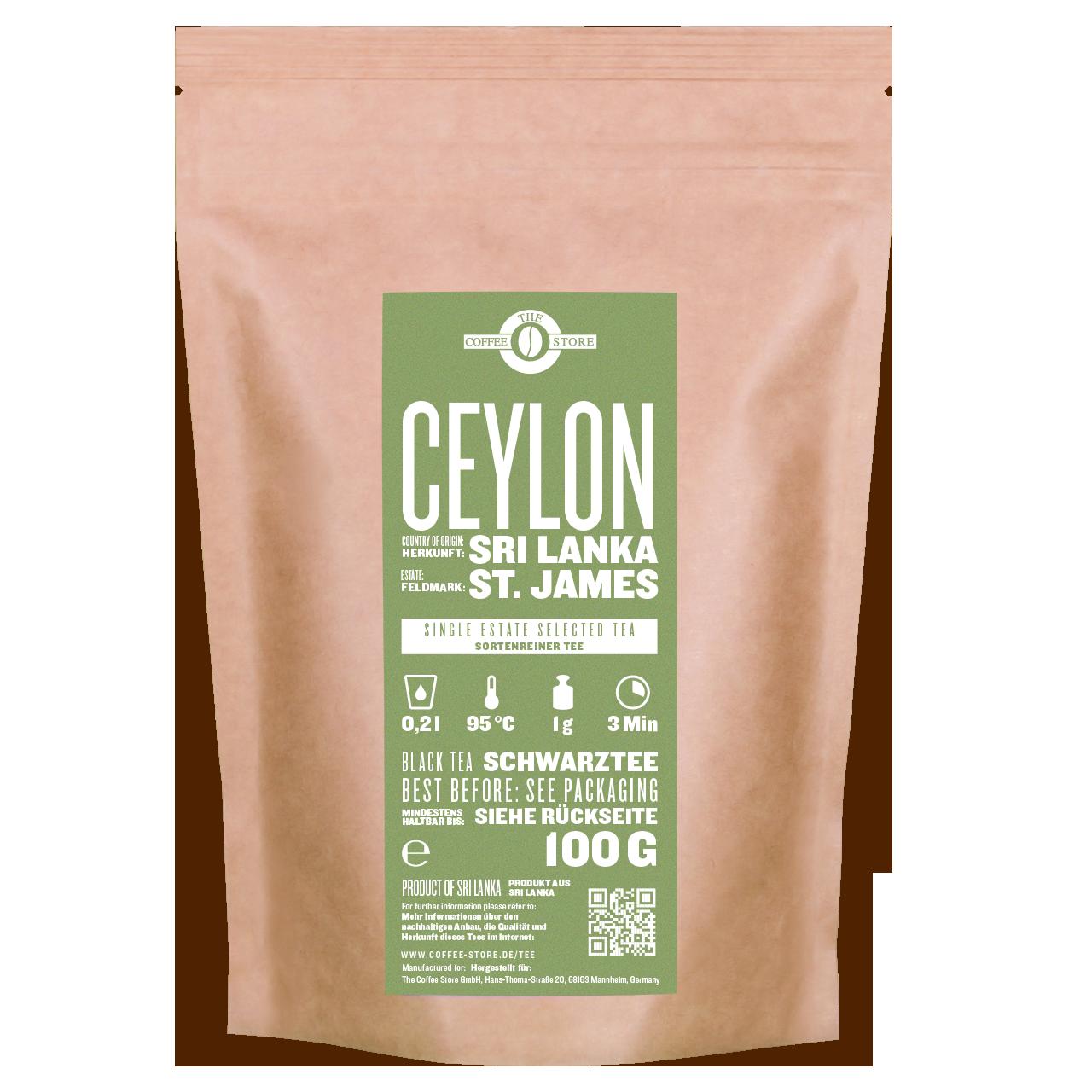 Schwarzer Tee - Ceylon