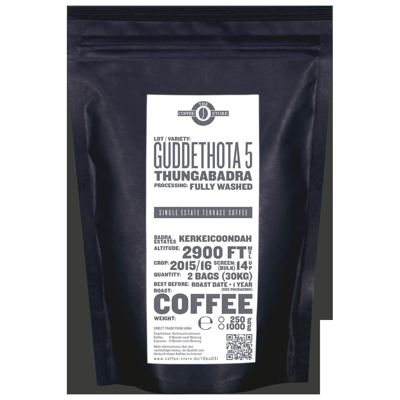 Guddethota - 5, Thungabadra - Kaffeeröstung