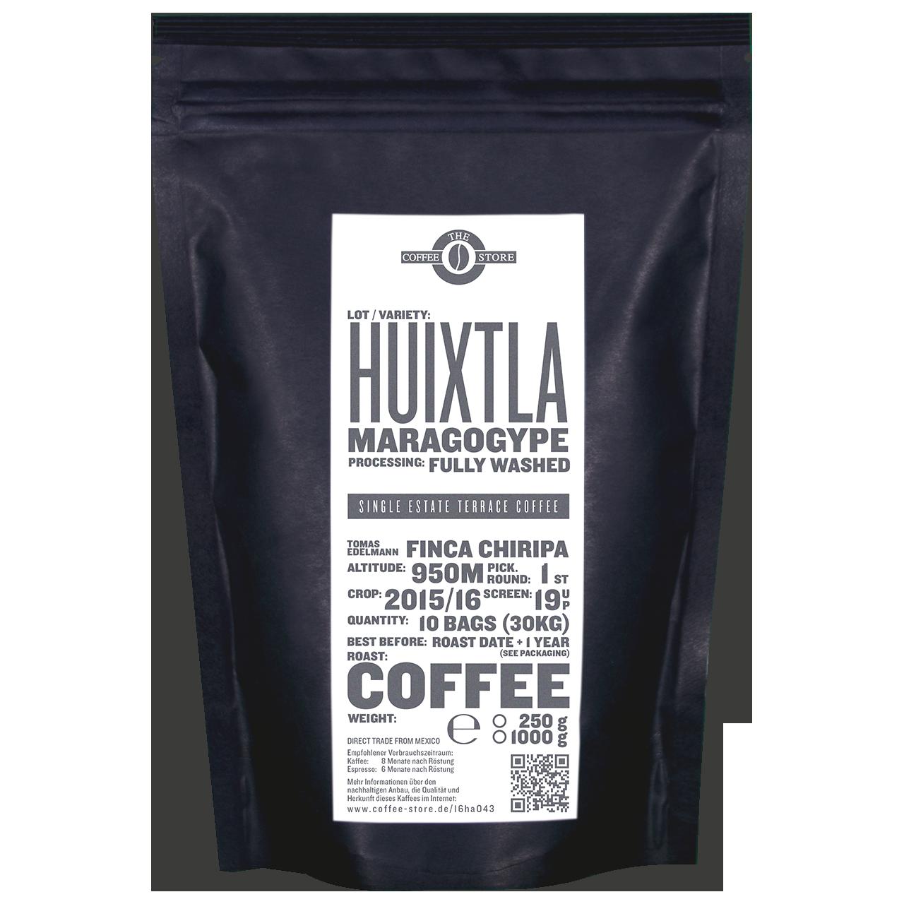 Huixtla, Maragogype - Kaffeeröstung