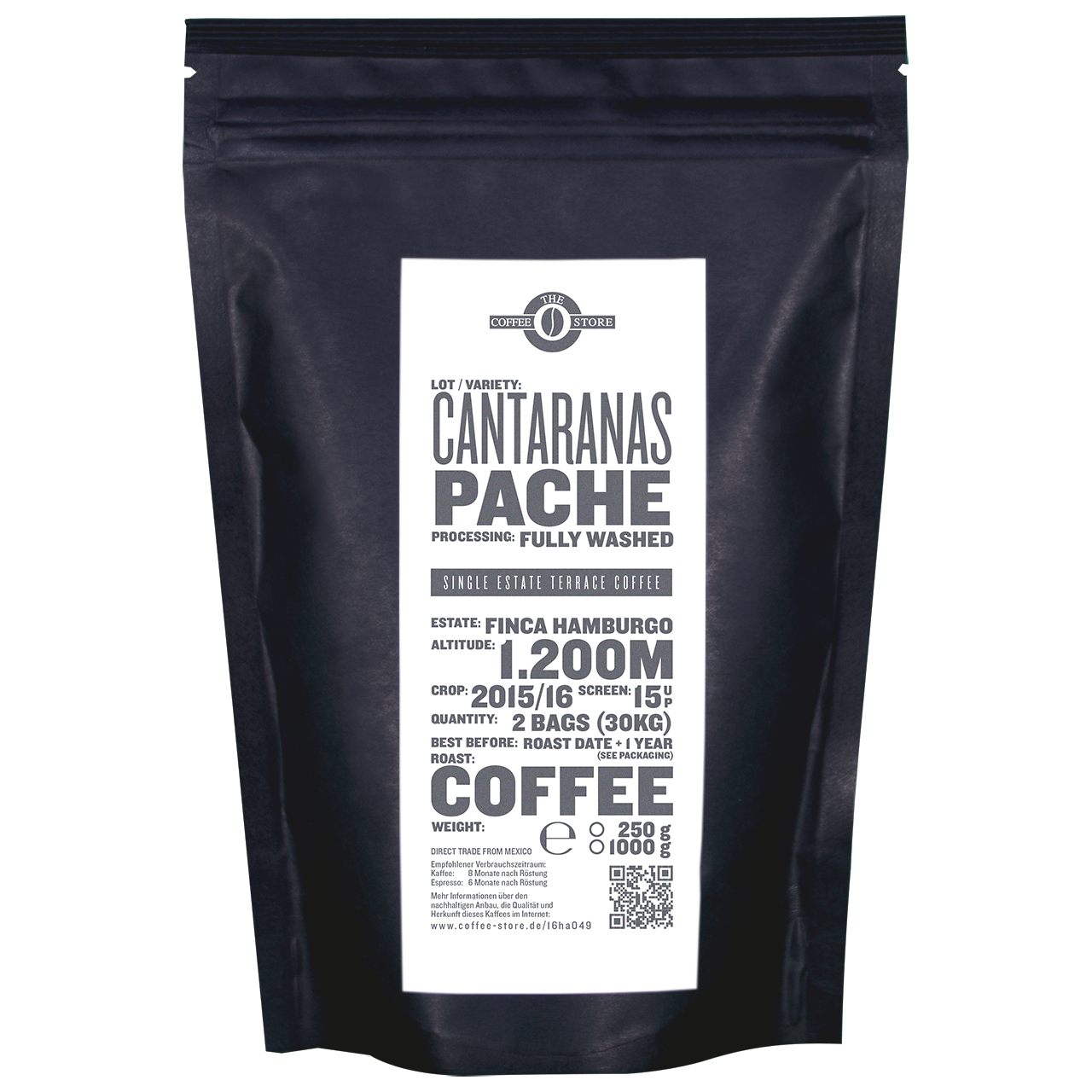 Cantaranas, Pache - Kaffeeröstung