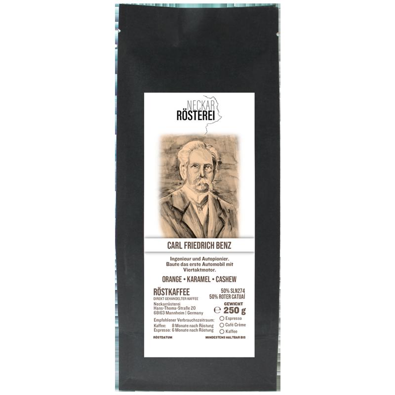 Carl Friedrich Benz - Kaffeeröstung