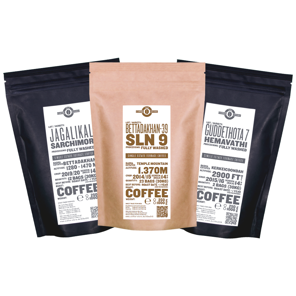 Hibrido de Timor Paket - Kaffeeröstung