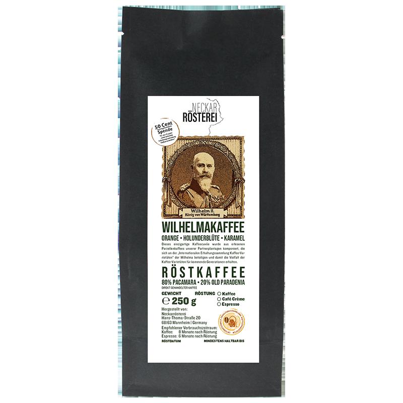 Wilhelmakaffee - Espressoröstung
