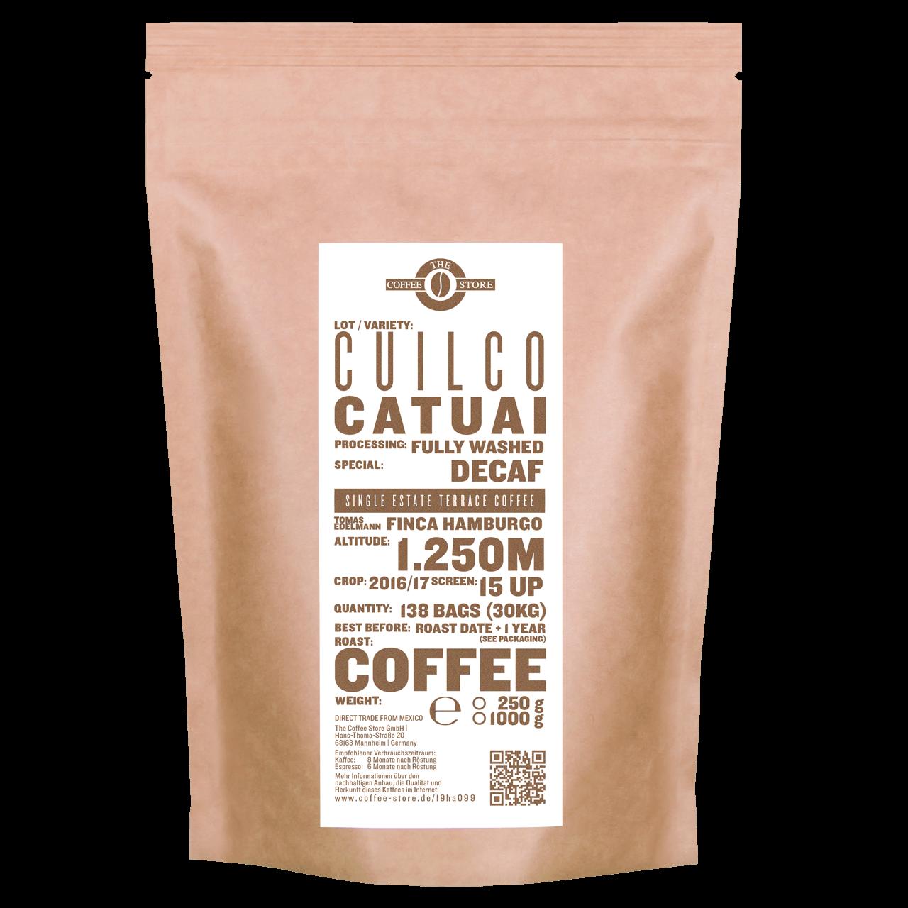 """Cuilco, Catuai """"Decaf"""" - Kaffeeröstung"""